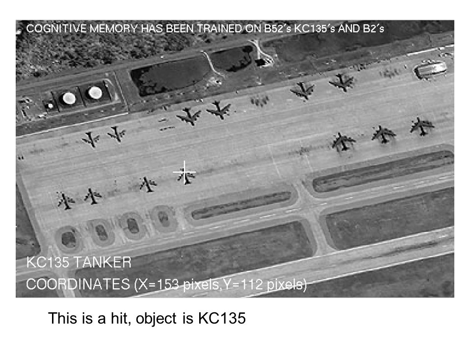 This is a hit, object is KC135