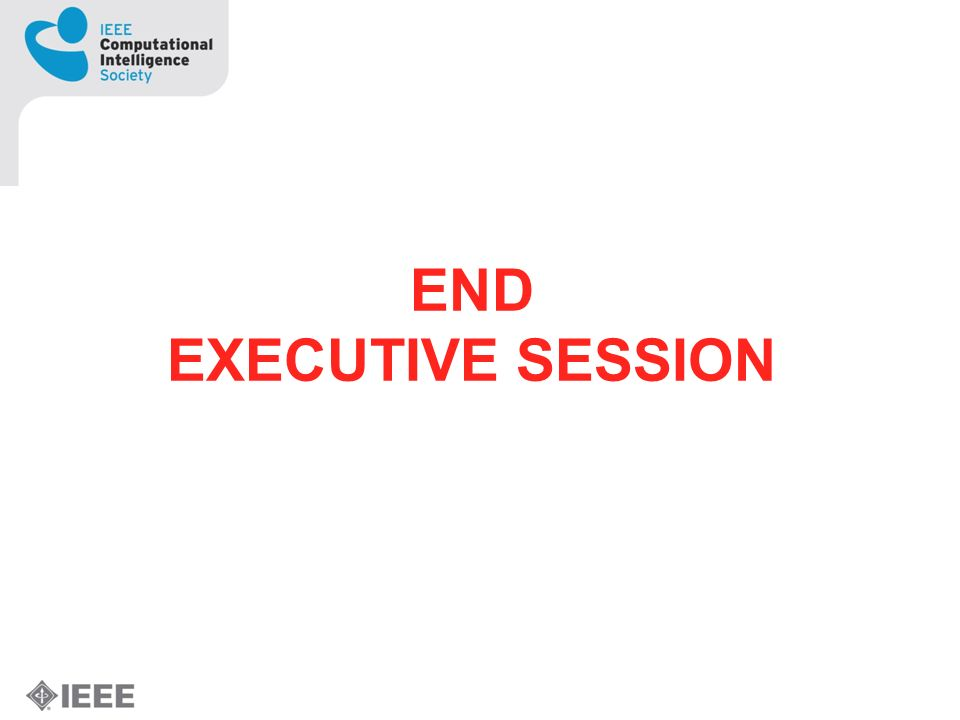 END EXECUTIVE SESSION