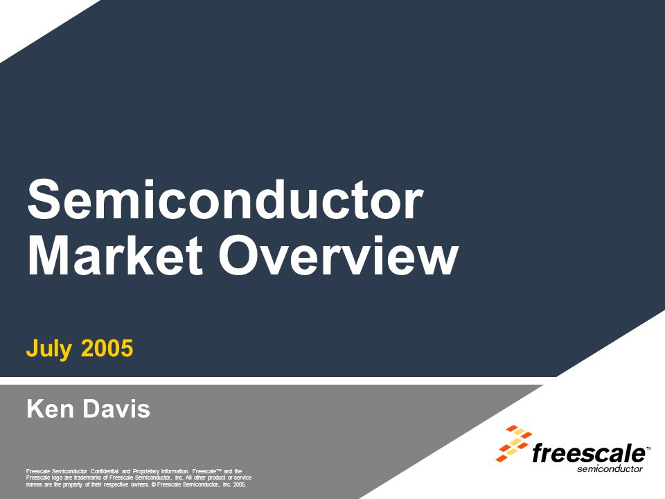 Freescale Semiconductor Confidential and Proprietary Information.