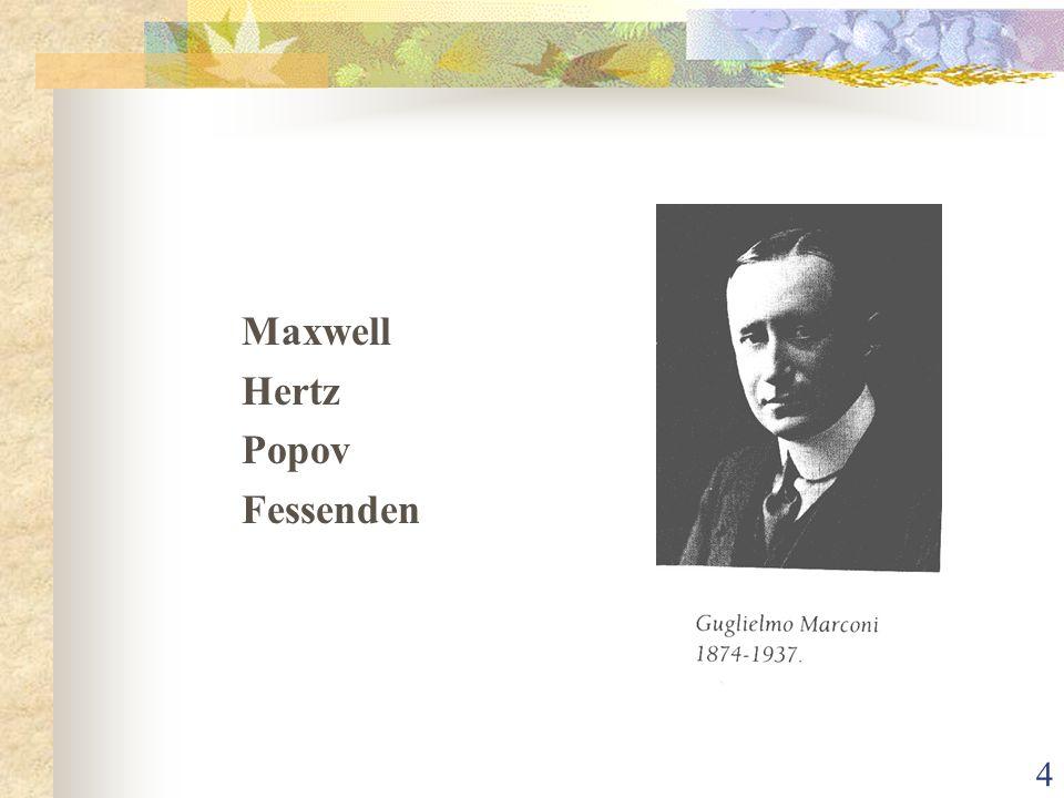 4 Maxwell Hertz Popov Fessenden