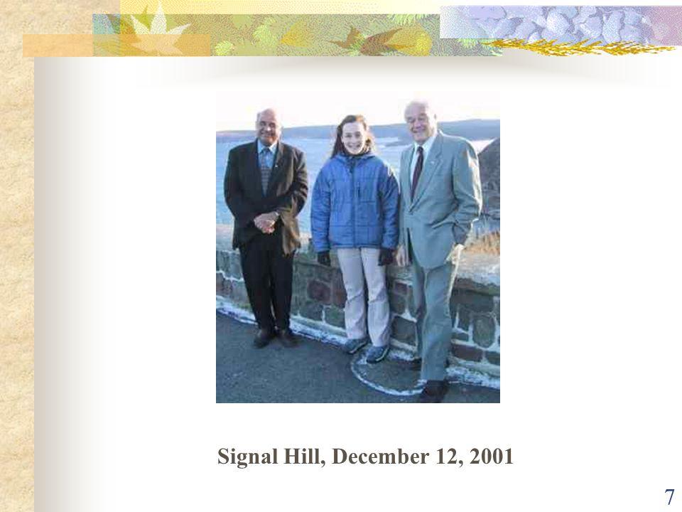 7 Signal Hill, December 12, 2001