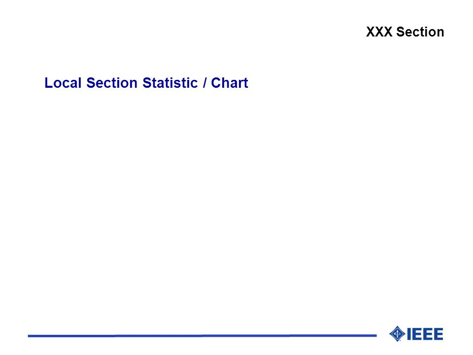 Local Section Statistic / Chart XXX Section