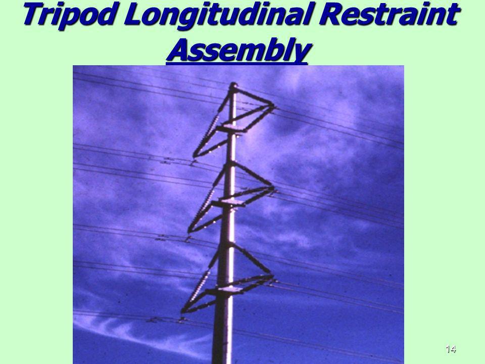 14 Tripod Longitudinal Restraint Assembly