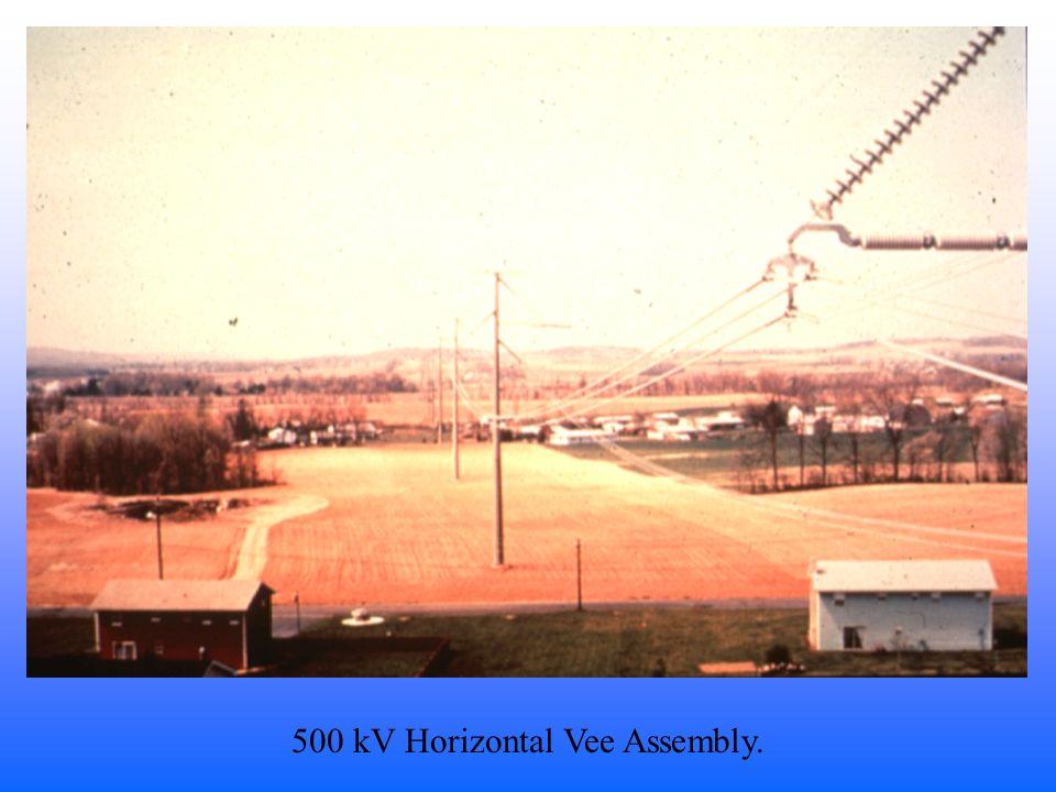 500 kV Horizontal Vee Assembly.
