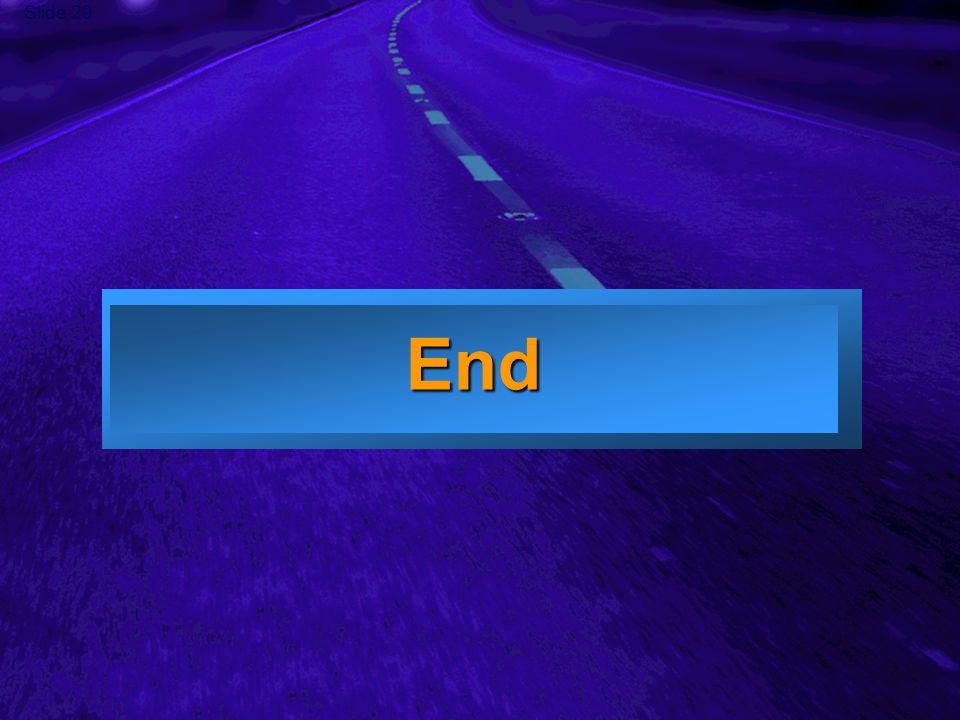 Slide 29 End