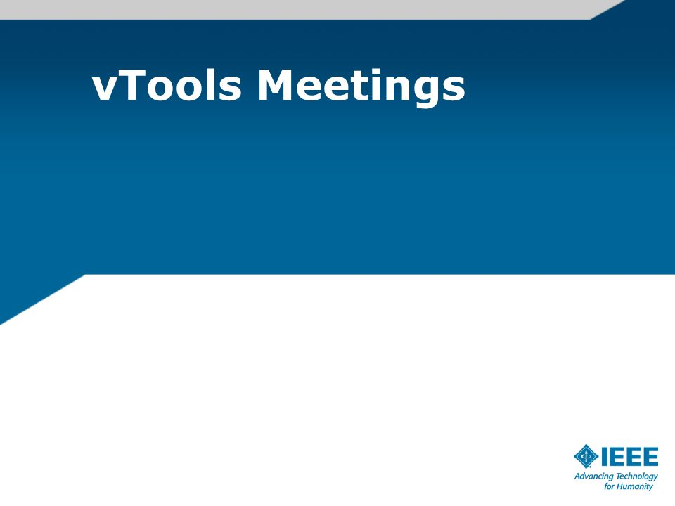 vTools Meetings