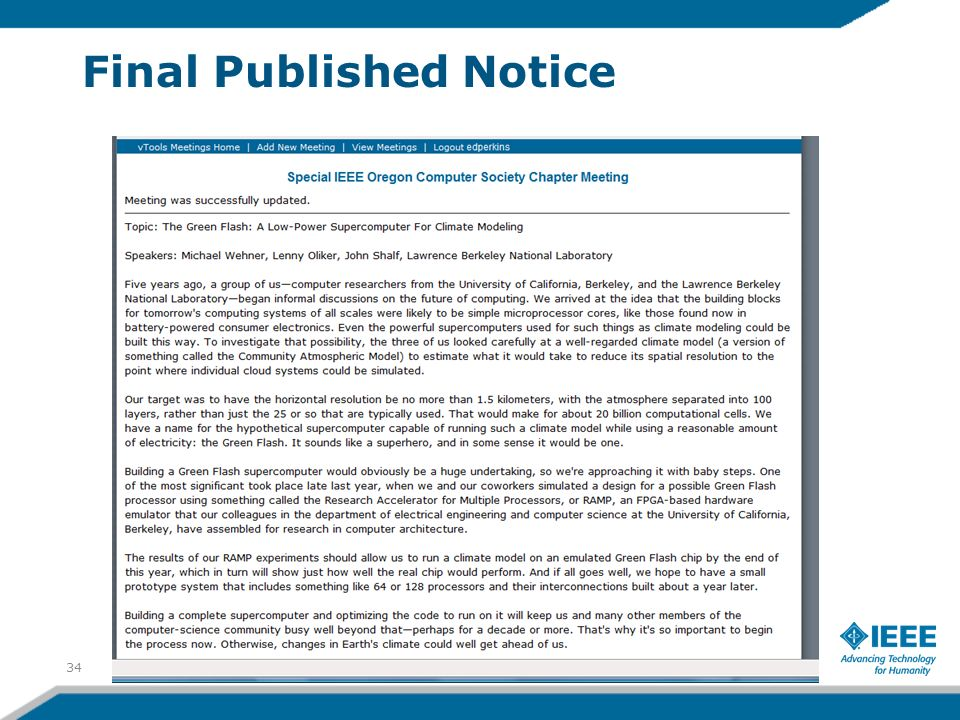 Final Published Notice 34