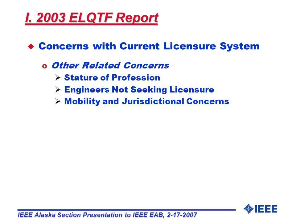 IV.Recommendations u IEEE Region 6 Operations Committee resolution, Feb.