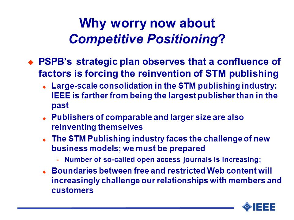 Whats Different About PSPBs New Competitive Positioning Initiative.