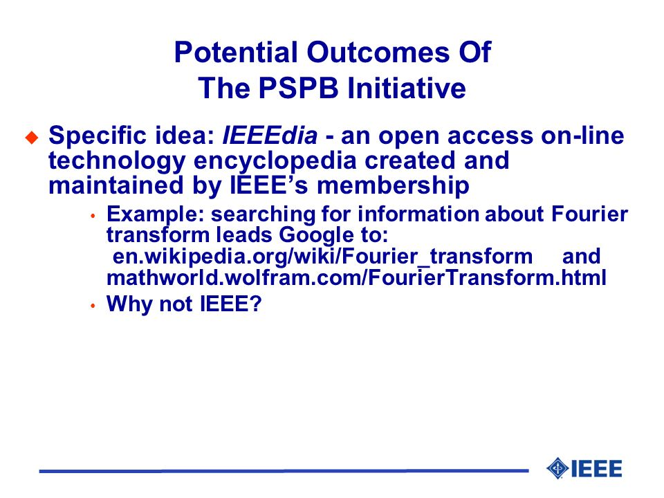 Resources Related to The PSPB Initiative Customer service and support Staff positions---new and redefined New products and services Buy-in from OUs Need to establish non-print-centric mindset for publishing