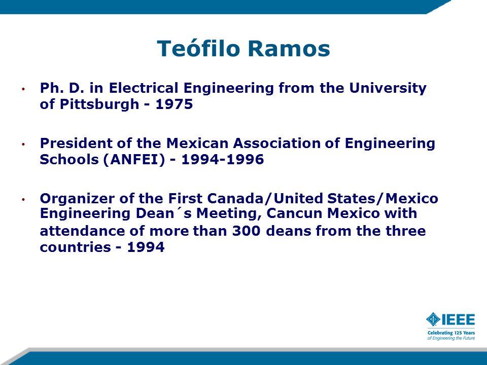 Teófilo Ramos Ph. D.