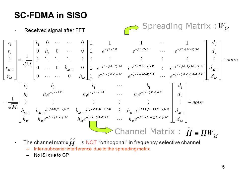 26 OFDMA vs.