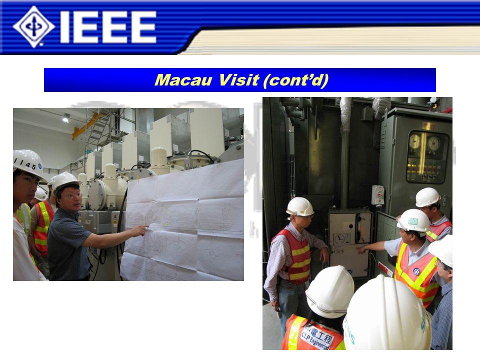 Macau Visit (contd)