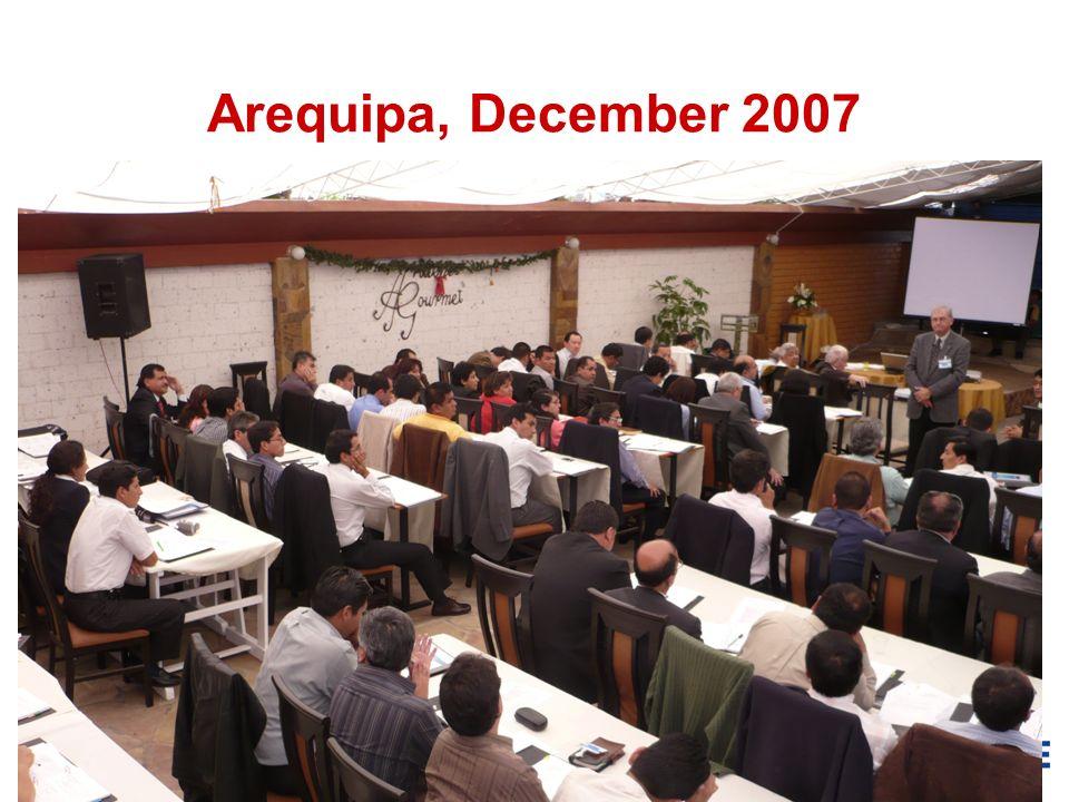 18 Arequipa, December 2007