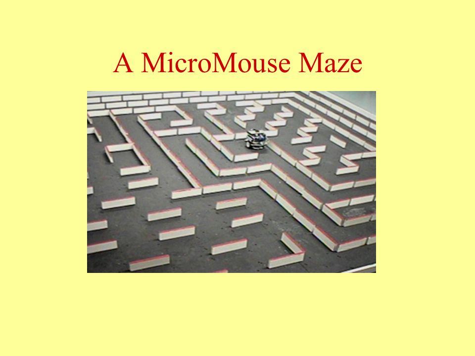 A MicroMouse Maze