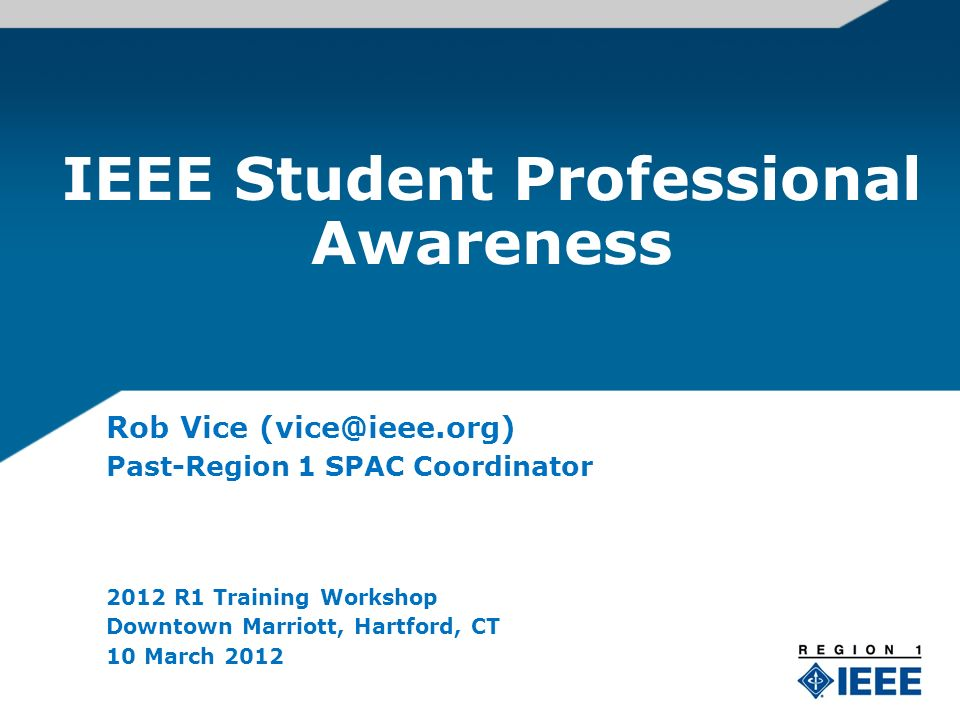 Agenda Professional Awareness S-PAC & S-PAVe Student Benefits and Involvement