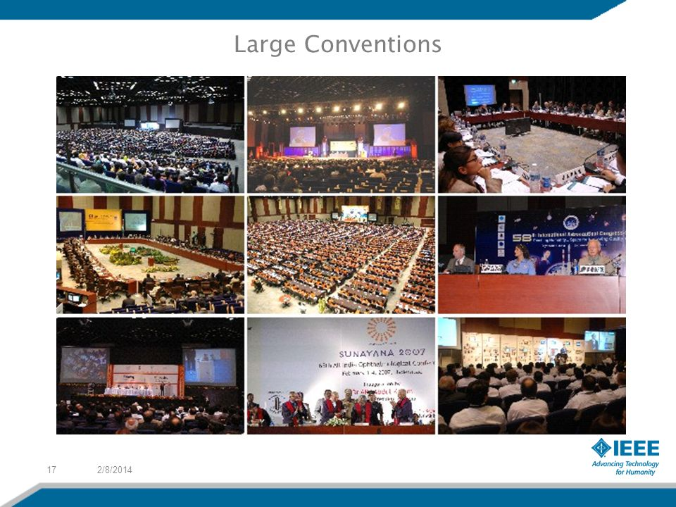 2/8/201417 Large Conventions