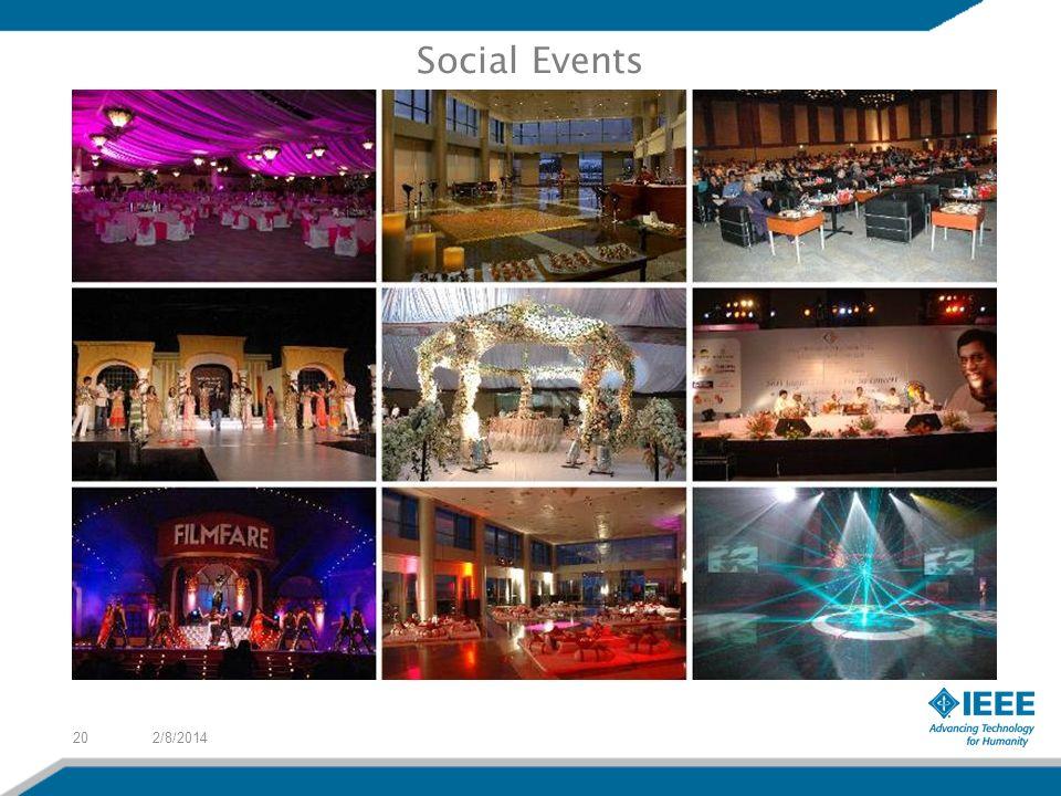2/8/201420 Social Events