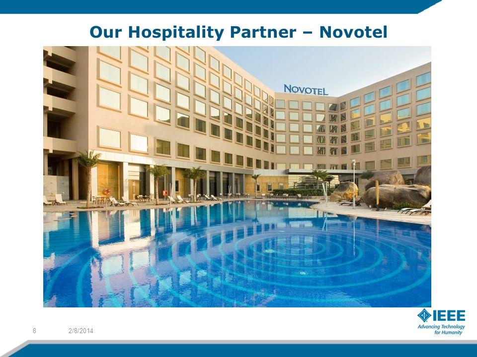 Our Hospitality Partner – Novotel 2/8/20148