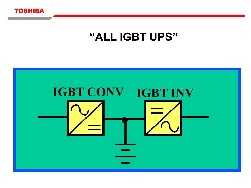 IGBT CONV IGBT INV ALL IGBT UPS