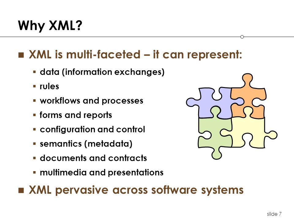 slide 7 Why XML.