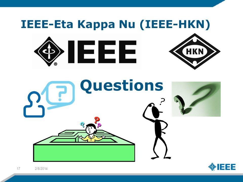 IEEE-Eta Kappa Nu (IEEE-HKN) 2/8/201417
