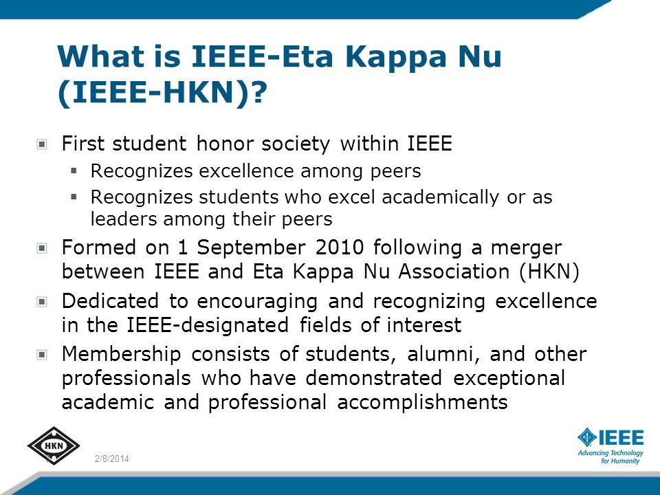 What is IEEE-Eta Kappa Nu (IEEE-HKN).
