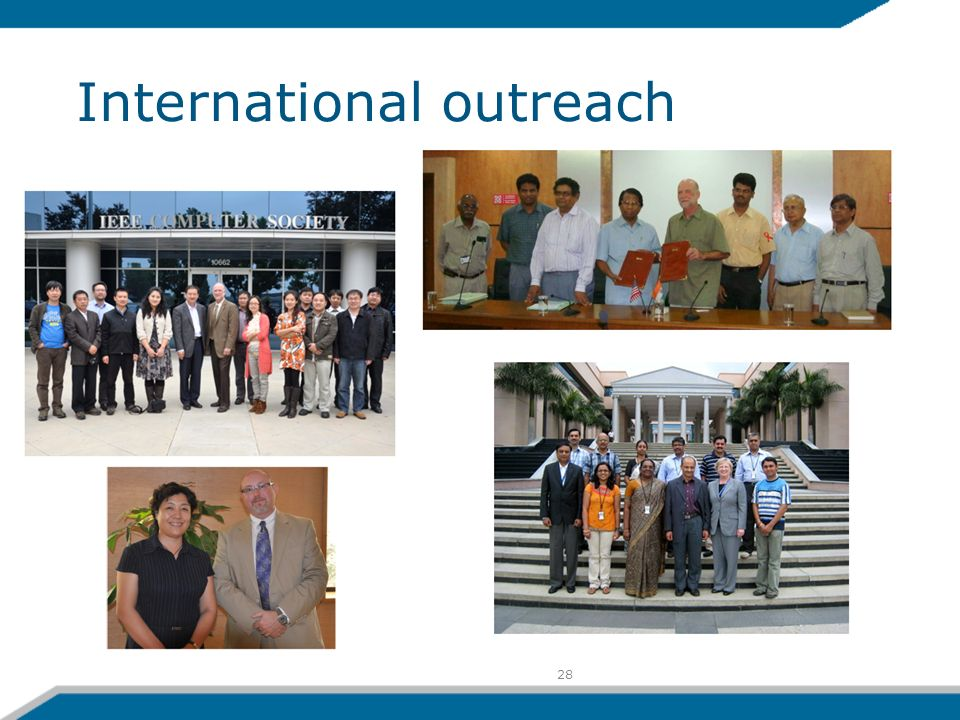 28 International outreach