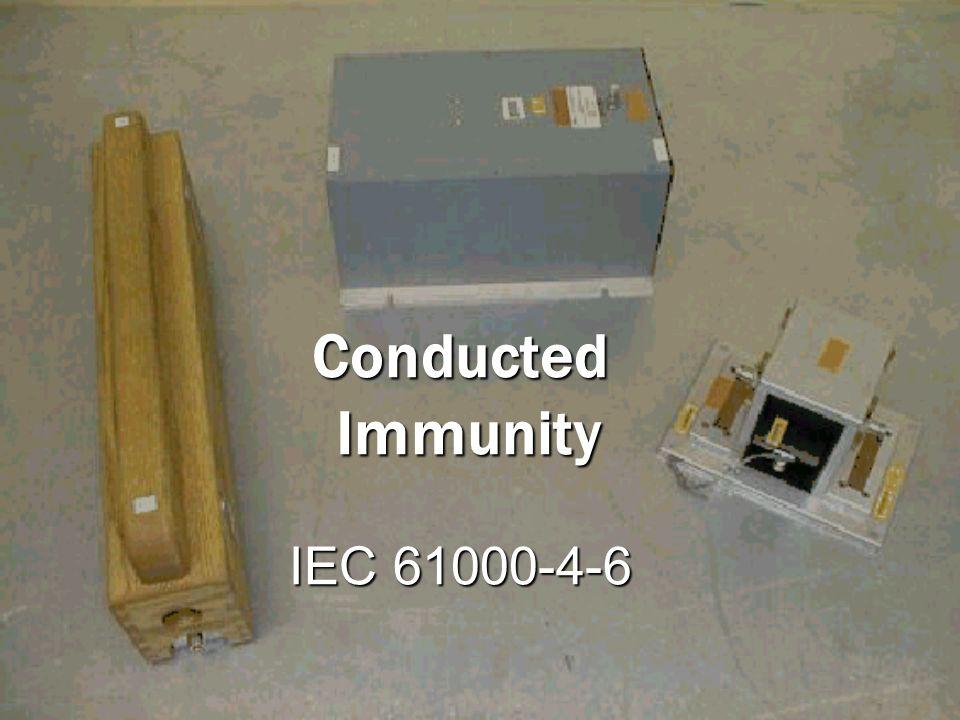 Conducted Immunity IEC 61000-4-6
