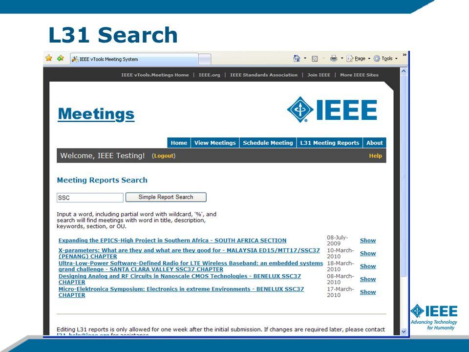 L31 Search