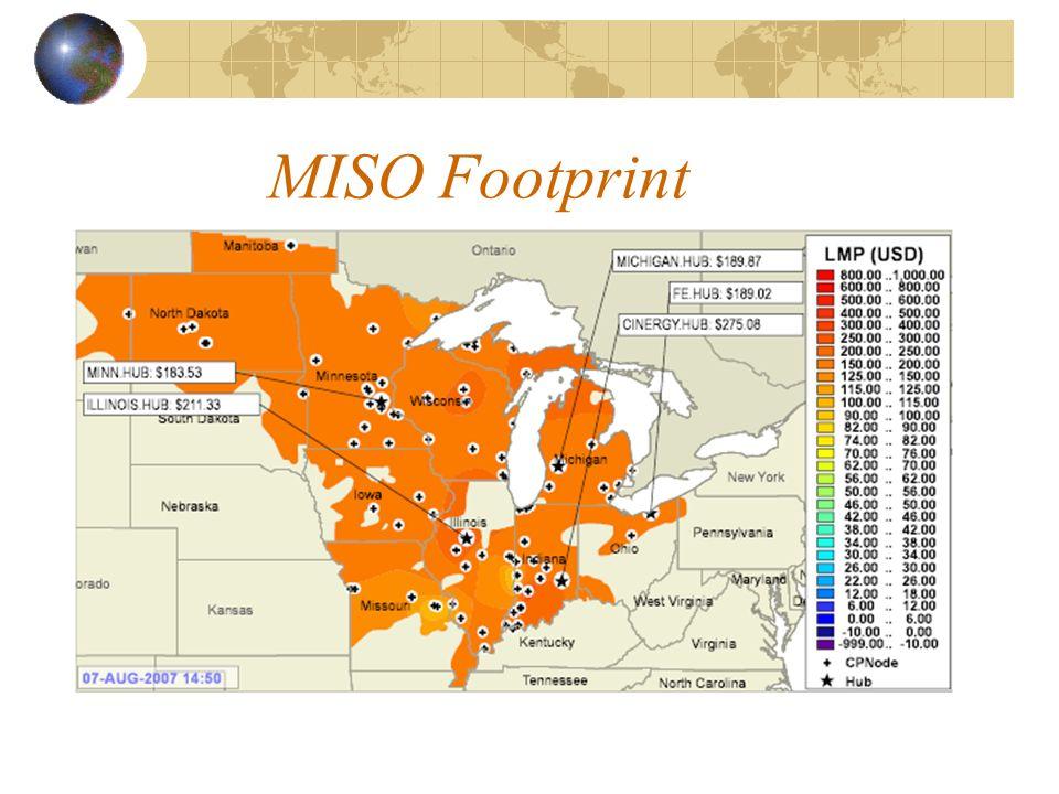 MISO Footprint