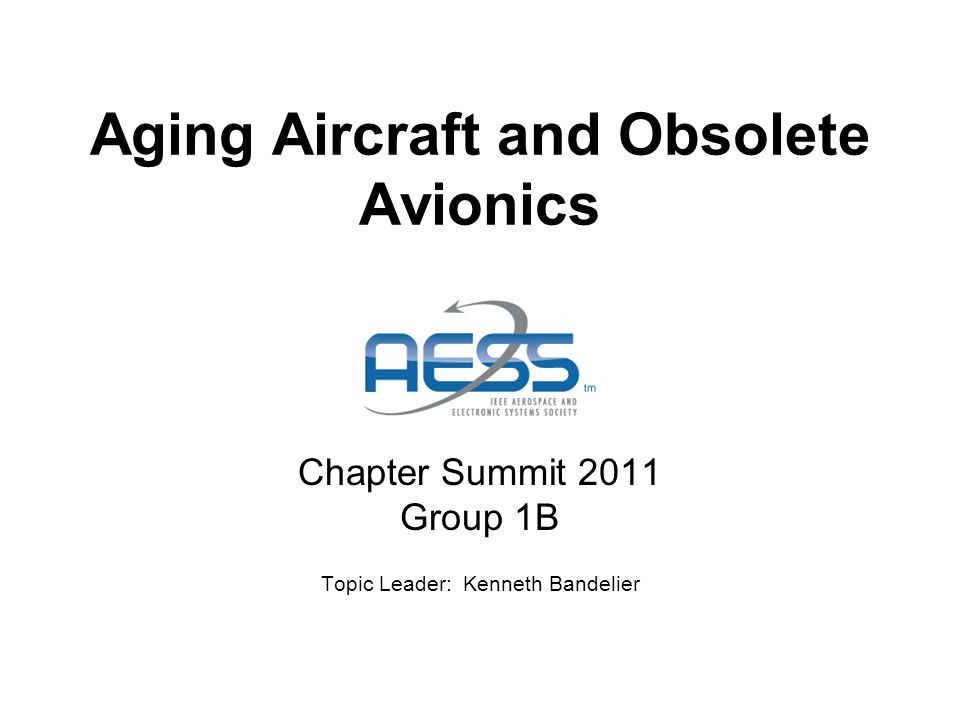 Executive Summary: Goal Evaluate material integrity of airframes with current flight status, safety guidelines, and project future needs of airframes and avionics.