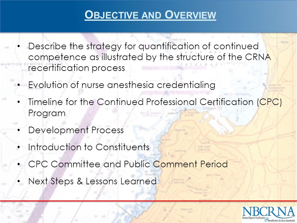 Summary www.nbcrna.com Frequently Asked Questions CPC Summary Report 33
