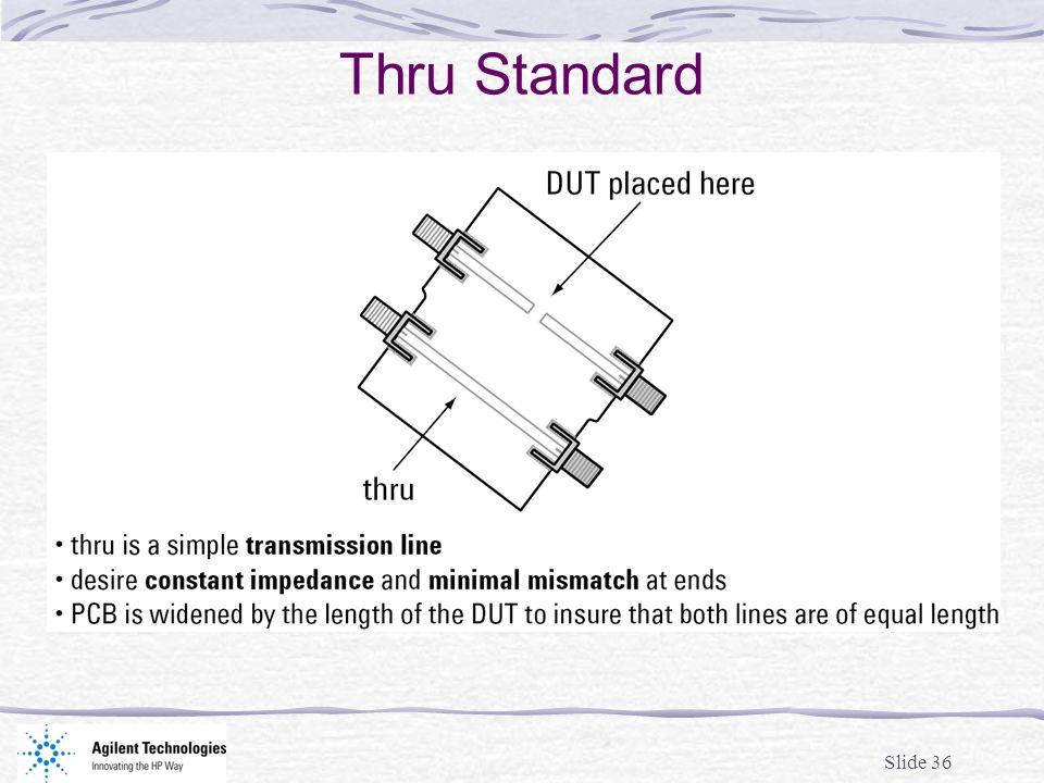 Slide 36 Thru Standard
