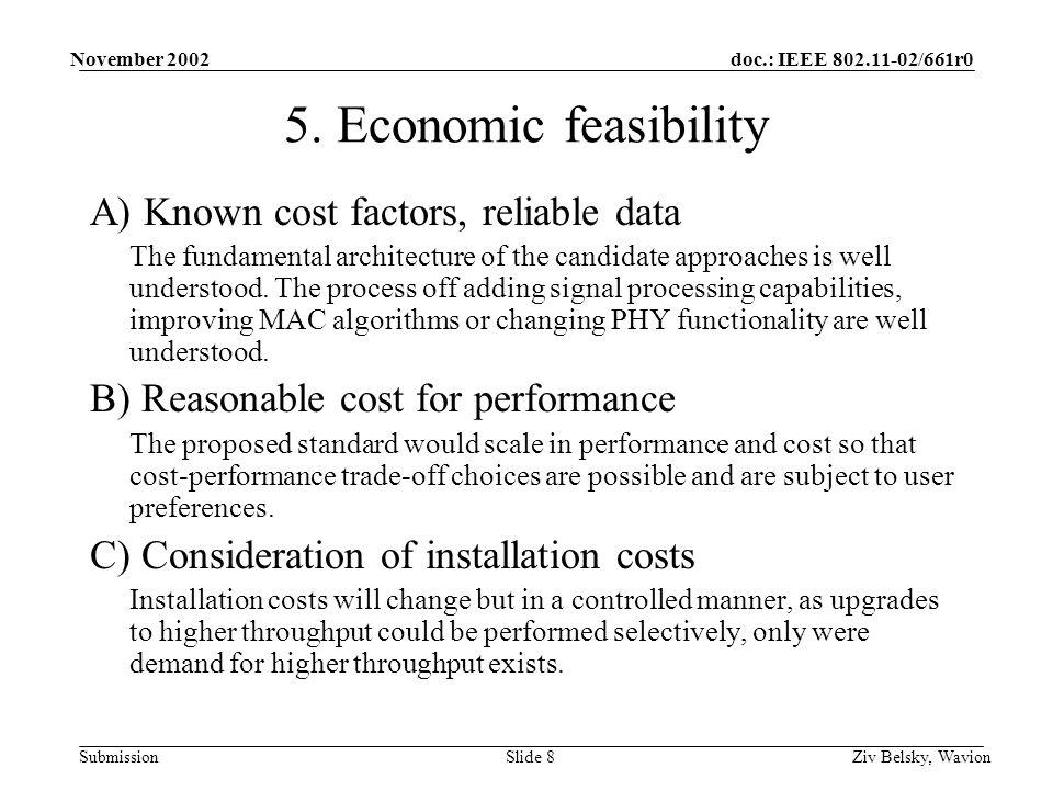 doc.: IEEE 802.11-02/661r0 Submission November 2002 Ziv Belsky, WavionSlide 8 5.