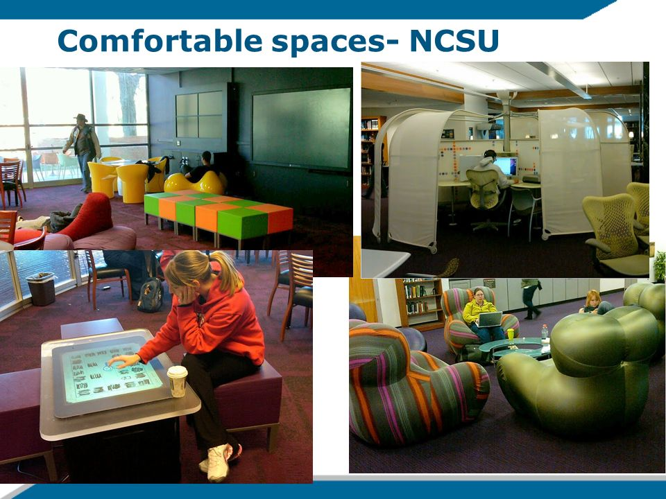Comfortable spaces- NCSU 14