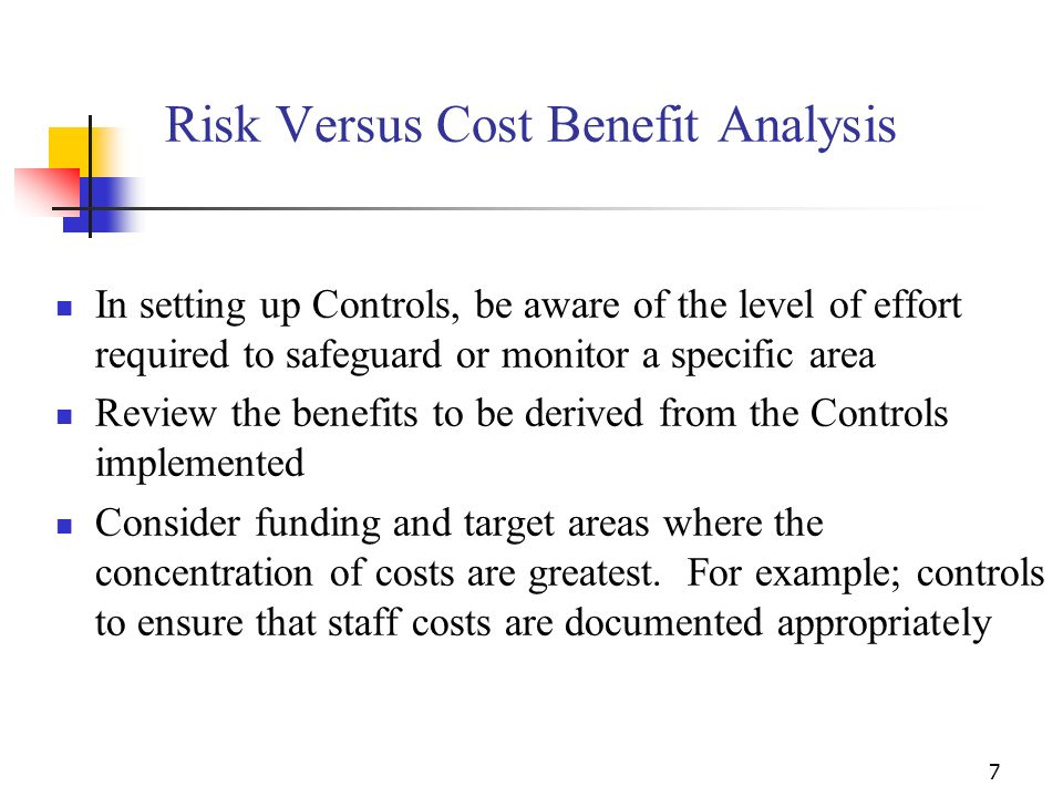 17 Key Elements of Internal Controls Sub-grantee Monitoring/Multi-site Program Warning Grantees are responsible for all funds that are passed on to or awarded to sub grantees Responsibilities include ensuring that: All sub-grantees are aware of provisions and requirements Expenditures are properly documented Financial reports correlate to source documentation Any Finding and/or Question costs are resolved properly and timely