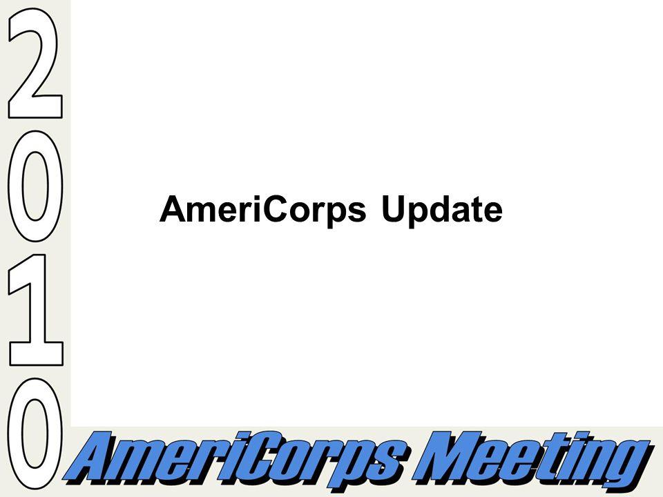 AmeriCorps Update