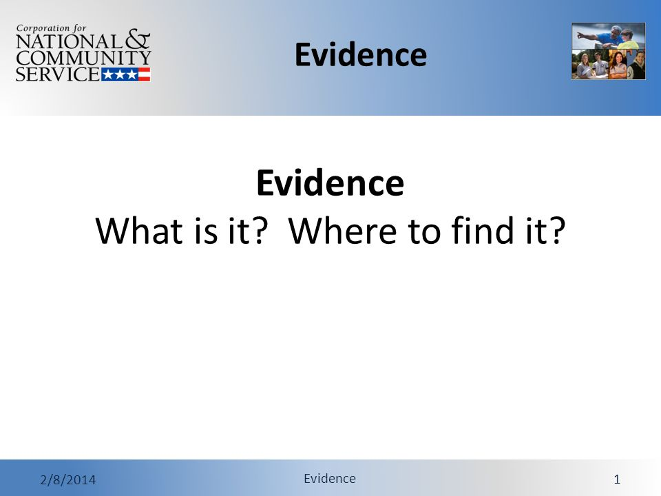 Evidence 2/8/2014 Evidence 32 Exercise Resources 1.Evidence Case Study 2.Evidence Case Study Debrief Notes 3.Evidence Case Study Considerations