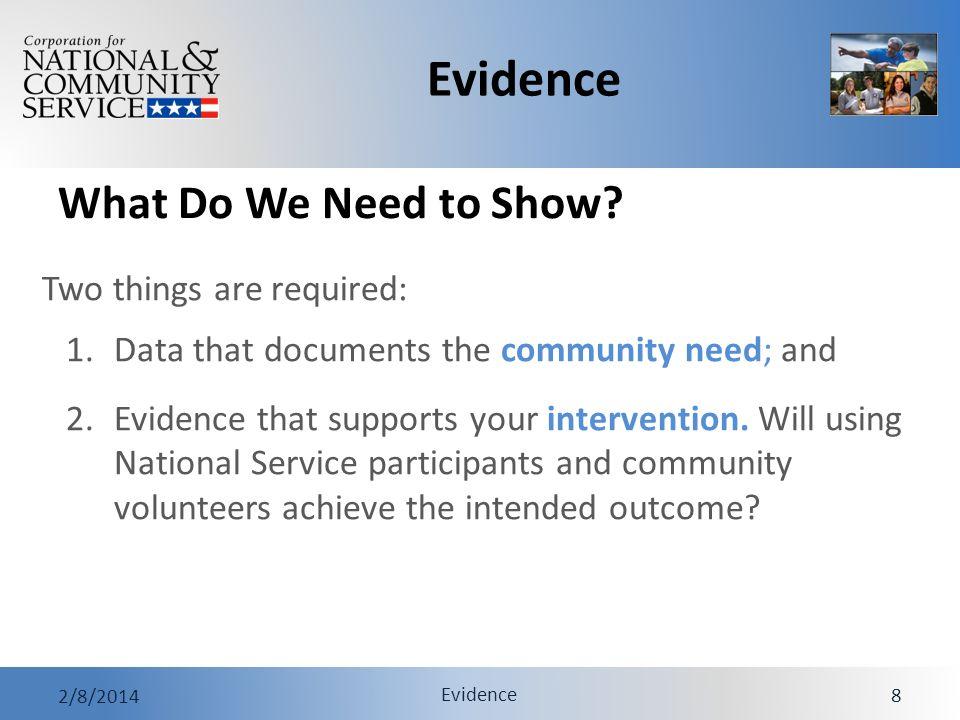 Evidence 2/8/2014 Evidence 29