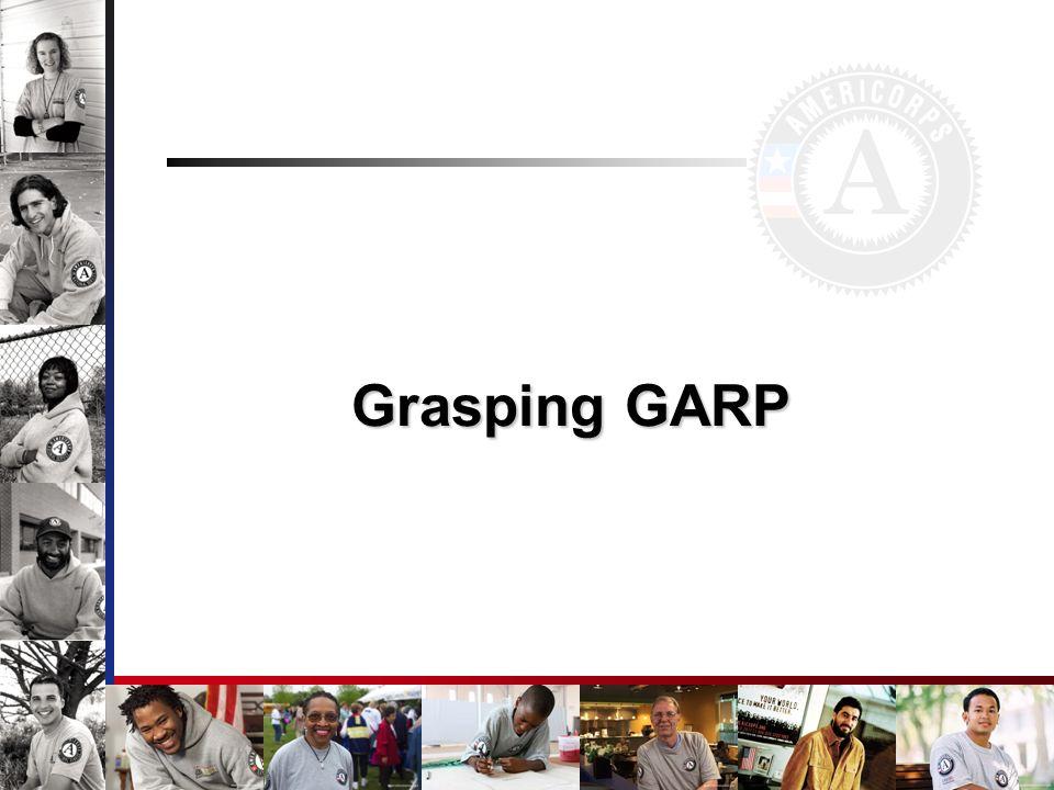 Grasping GARP