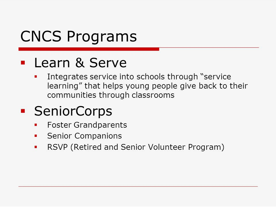 What can AmeriCorps do.