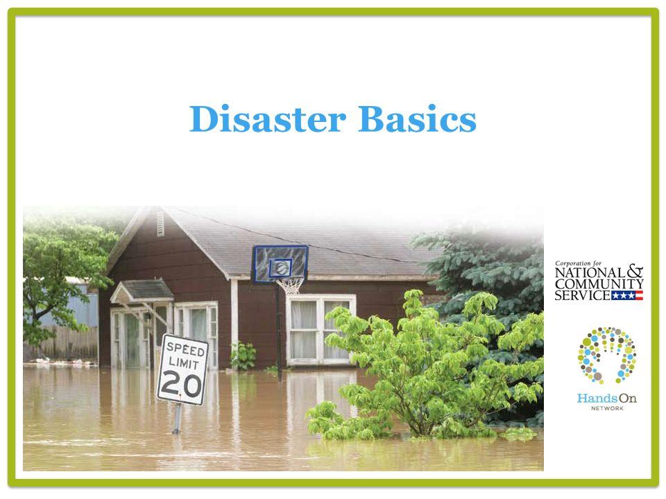 Disaster Basics
