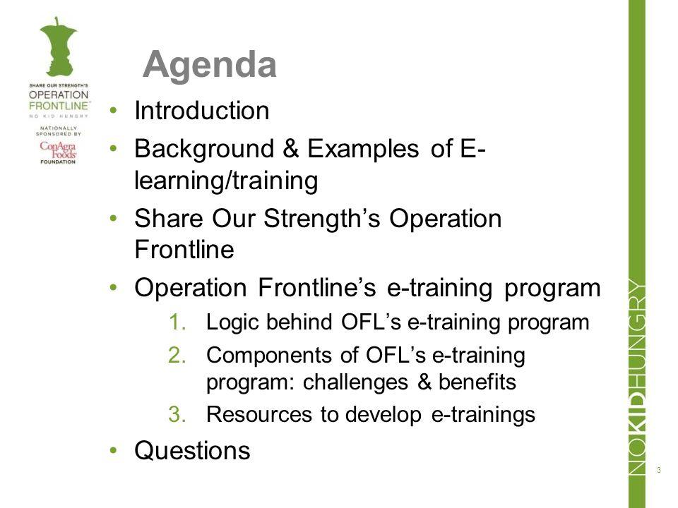 Emergence of on-line learning/training 4