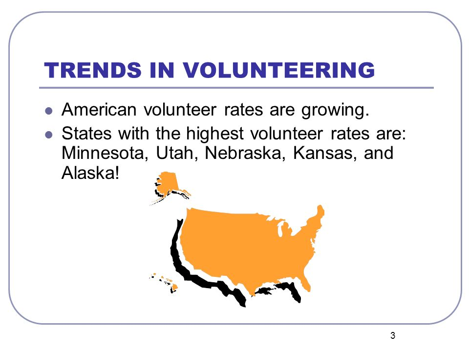 4 WHY DO YOU VOLUNTEER? Why did you choose independent living services?
