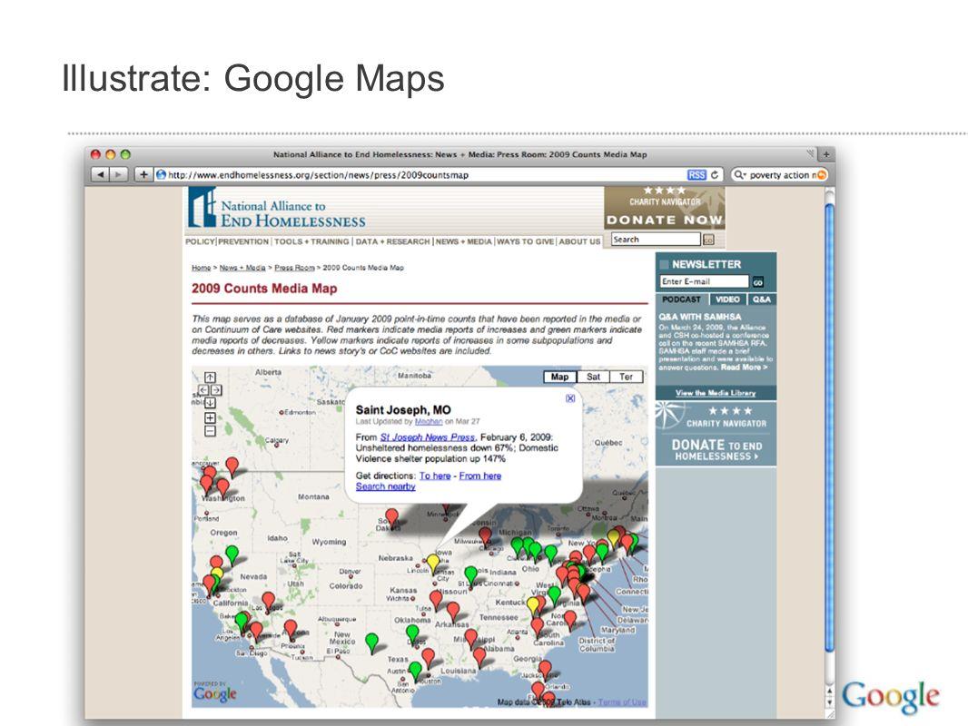 Illustrate: Google Maps