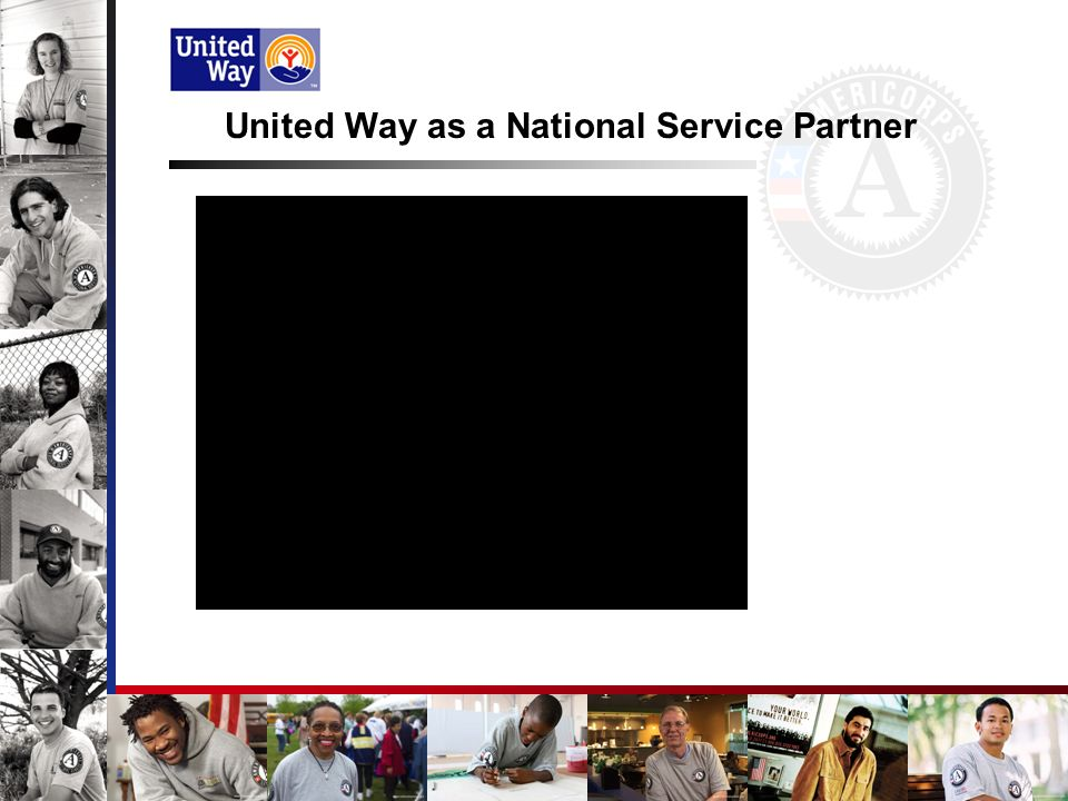 United Way mission: To Improve Lives By Mobilizing the Caring Power of Communities