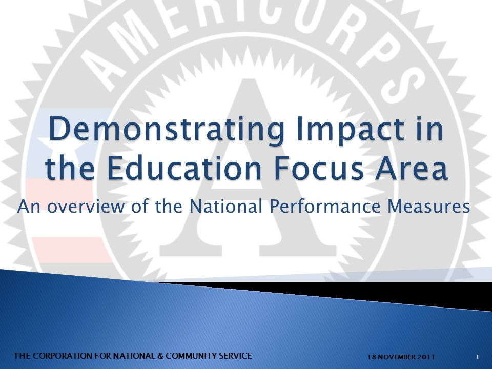 Programs must have at least one aligned performance measure that captures the measurable impact of their primary service activity.