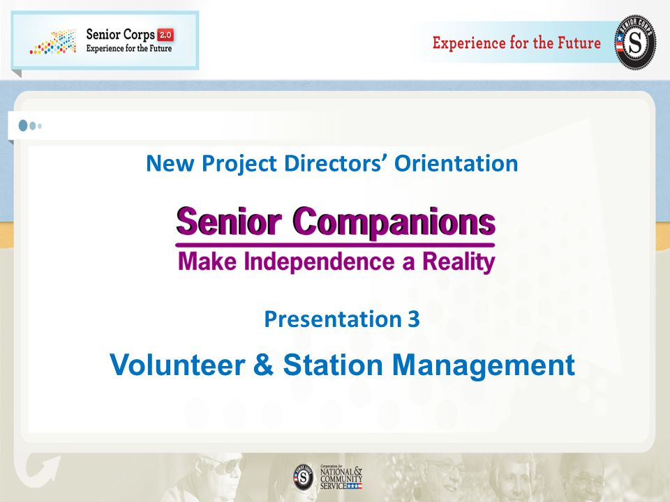 What requirements govern the assignment of Senior Companions.