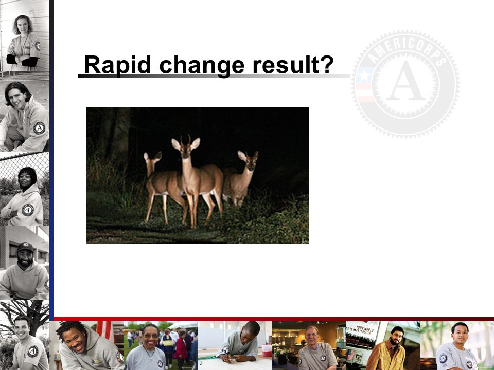 Rapid change result